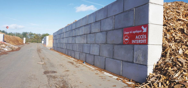 Mur de soutènement - Réalisation Top Bloc
