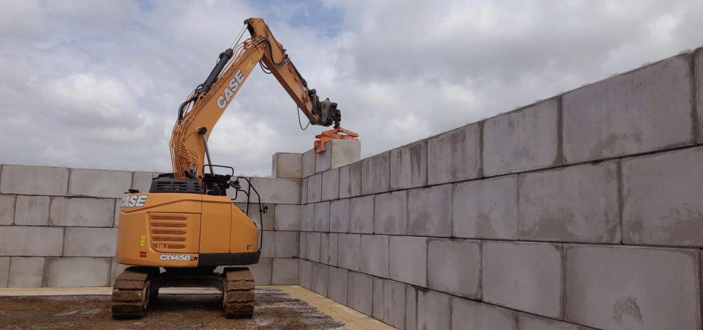 Photo n°3 de la construction d'un projet de 784 blocs