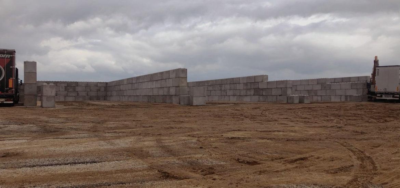 Photo n°5 de la construction d'un projet de 784 blocs