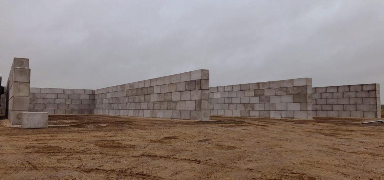 Photo n°6 de la construction d'un projet de 784 blocs