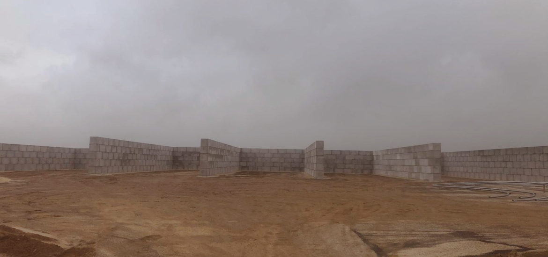 Photo n°7 de la construction d'un projet de 784 blocs