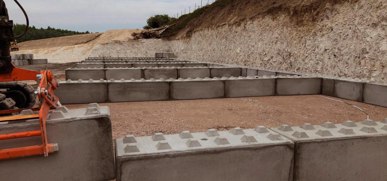 Photo n°1 d'un chantier de 8 cases de stockage chez BTTP