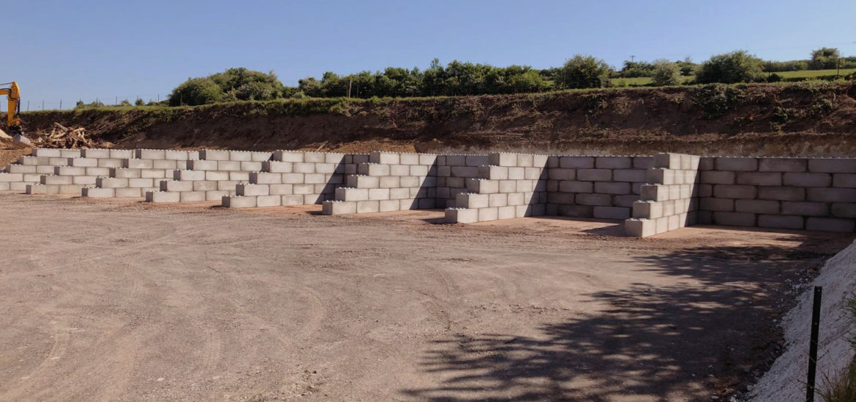 Photo n°5 d'un chantier de 8 cases de stockage chez BTTP