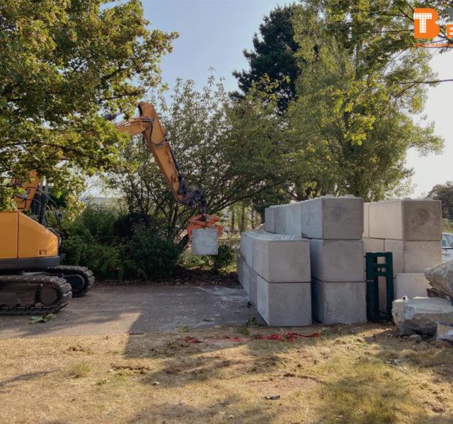 Photo n°3 de la construction d'une barriere de sécurité à Nantes