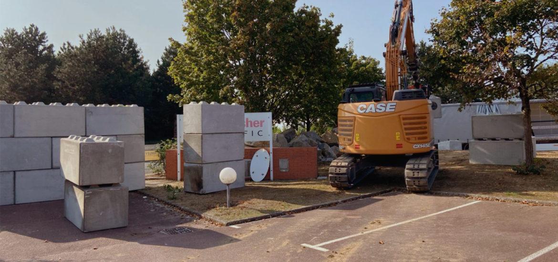 Photo n°5 de la construction d'une barriere de sécurité à Nantes